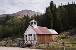 城镇厅和监狱在圣Elmo,科罗拉多 免版税库存图片
