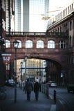 城镇厅和罗马法兰克福的地窖 库存图片