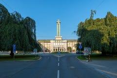 城镇厅在俄斯拉发 库存图片