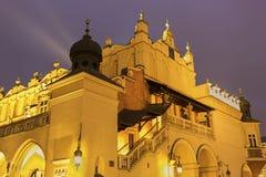 城镇厅在克拉科夫在波兰 免版税库存图片