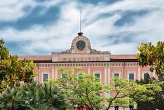 城镇厅在坎恩帕贝索 免版税库存图片