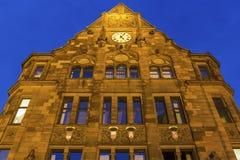 城镇厅在多特蒙德在德国 免版税图库摄影