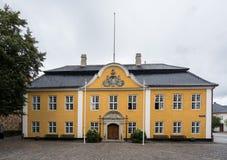 城镇厅在奥尔堡,丹麦 免版税库存图片