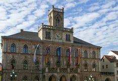 城镇厅在威玛,德国 免版税库存图片
