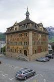 城镇厅在市施维茨 免版税图库摄影