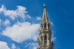 城镇厅在布鲁塞尔,比利时 免版税库存图片