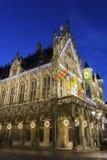 城镇厅在梅赫伦在比利时 免版税库存图片