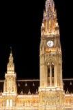 城镇厅在维也纳,奥地利 库存图片