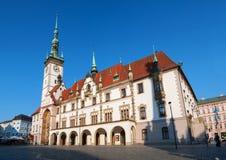 城镇厅在Olomouc 库存照片
