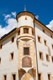 城镇厅在Tamsweg,奥地利 库存图片