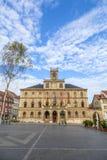 城镇厅威玛在德国 库存图片