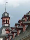 城镇厅屋顶,科布伦茨 库存图片