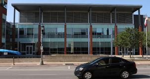 城镇厅的4K UltraHD视图在Welland,加拿大 影视素材