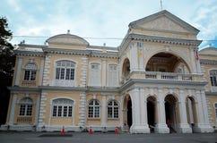城镇厅,乔治城,槟榔岛,马来西亚 免版税库存图片