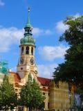 城镇厅,市政厅,布拉格,捷克 免版税库存照片