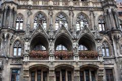 城镇厅,慕尼黑 库存图片