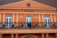城镇厅,松博尔,塞尔维亚 库存照片