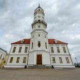城镇厅,莫吉廖夫,白俄罗斯 免版税库存图片