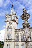 城镇厅,辛特拉,葡萄牙 选择聚焦 免版税库存图片