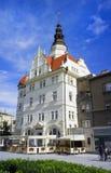 城镇厅/市政厅,奥帕瓦河,捷克 免版税库存图片