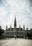 城镇厅(Rathaus)维也纳 库存图片
