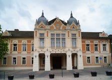 城镇厅- Szekszard -匈牙利 库存照片