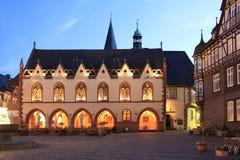 城镇厅Goslar 图库摄影