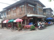 城镇可汗区泰国 免版税库存图片