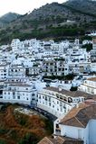 城镇在西班牙 库存照片