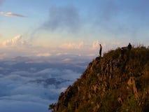 城镇Dao山,泰国峰顶  Chiang Mai 25 Novem 免版税图库摄影