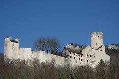 城镇Neu-Bechburg 免版税图库摄影