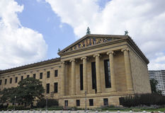 费城, 8月4日:从费城的美术馆大厦在宾夕法尼亚 图库摄影