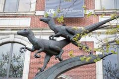 费城, PA - 4月19日:自然科学的学院在2013年4月19日的费城 图库摄影