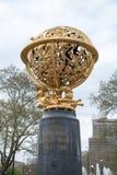 费城, PA - 4月19日:航空纪念品位于费城` s飞行员公园2013年4月19日 纪念品是 库存照片