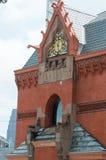 费城, PA - 6月13日:西部费城的大学城市部分的卓克索大学校园毕业的 图库摄影