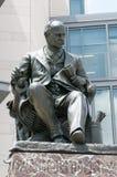 费城, PA - 6月13日:西部费城的大学城市部分的卓克索大学校园毕业的 库存照片