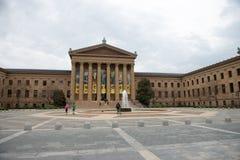费城, PA - 4月19日:费城艺术馆的正门2013年4月19日的 库存照片