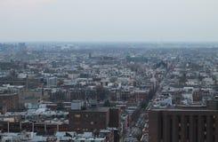 费城从上面 免版税库存图片