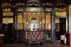 城Hoon滕国寺庙在Melaka 马来西亚 库存照片