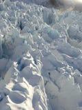 域弗朗兹冰川冰约瑟夫 免版税库存照片