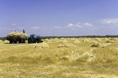 域拖拉机 免版税库存照片