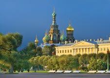 域毁损 圣徒Peteresburg,俄罗斯 免版税库存照片