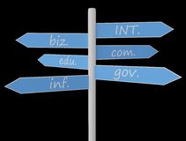 域符号多种区域 免版税图库摄影