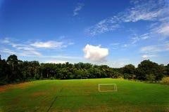 域足球 免版税库存图片