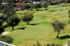 域高尔夫球旅馆豪华 免版税库存照片
