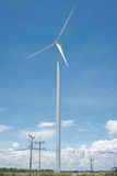 域绿色涡轮风 图库摄影