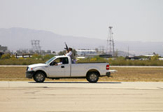 培训美国的攻击海洋小队恐怖分子 免版税库存照片