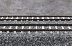 培训铁路运输 免版税库存照片