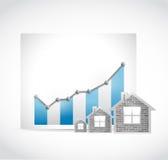 培养房地产交易市场例证 向量例证