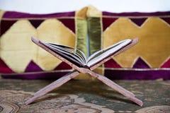 基于一个传统书持有人古兰经 免版税库存图片